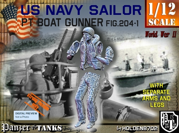 1/12 USN Lifevest Gunner Fig-204-1