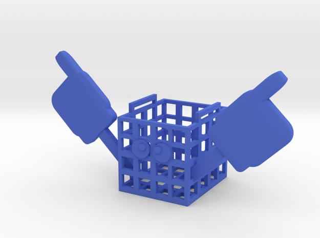(Fnaf6)#1 crate in Blue Processed Versatile Plastic