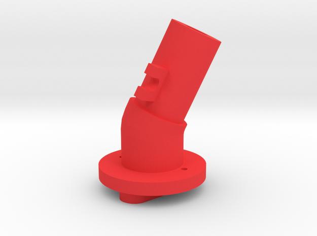 Shaft 15F-20L in Red Processed Versatile Plastic