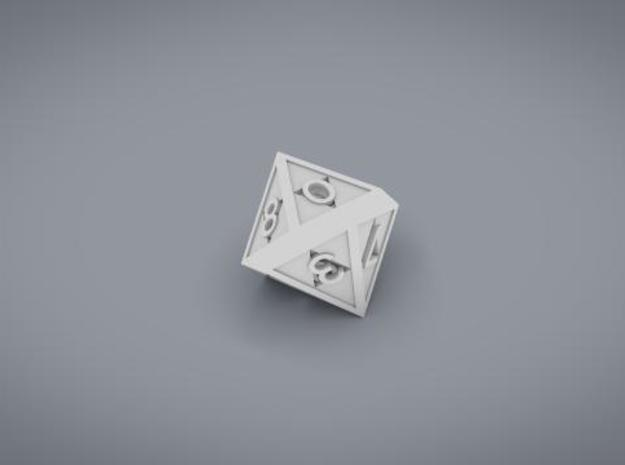 Triforce D10 3d printed