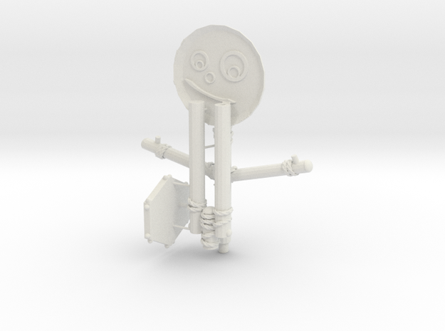 (Fnaf 6) Pan-Stan in White Natural Versatile Plastic