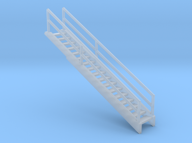 'N Scale' - 36' Bin - Stairway in Smooth Fine Detail Plastic