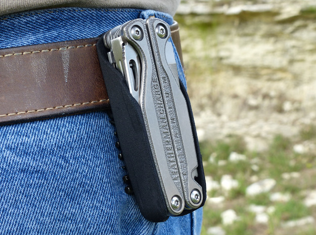 Leatherman Charge TTI Holster in Black Natural Versatile Plastic: Small