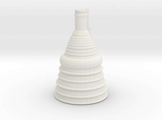 F1 Engine 1:250 Scale in White Natural Versatile Plastic