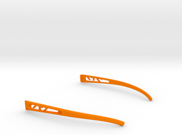 Vanderpool VisionSPEC2,3,4 Temples VER717 REV2 in Orange Processed Versatile Plastic