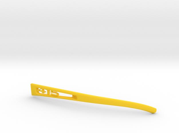 Vanderpool VisionSPEC2,3,4 Left Temple VER415 REV2 in Yellow Processed Versatile Plastic