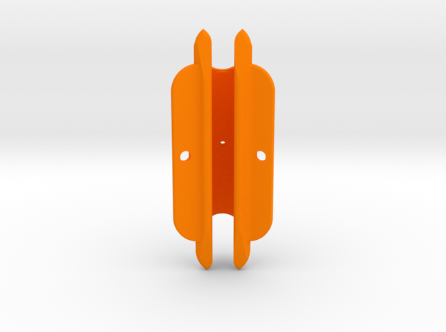 "Cape Dory Typhoon 2 7/8"" DM375 in Orange Processed Versatile Plastic"
