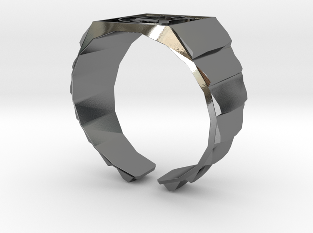 Muad'dib Ring in Polished Silver