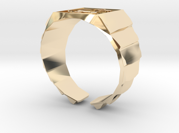 Muad'dib Ring in 14K Yellow Gold