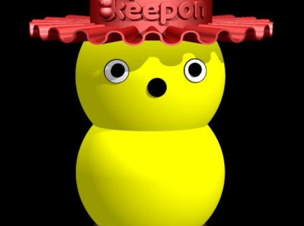 My Keepon Fancy Hat 3d printed