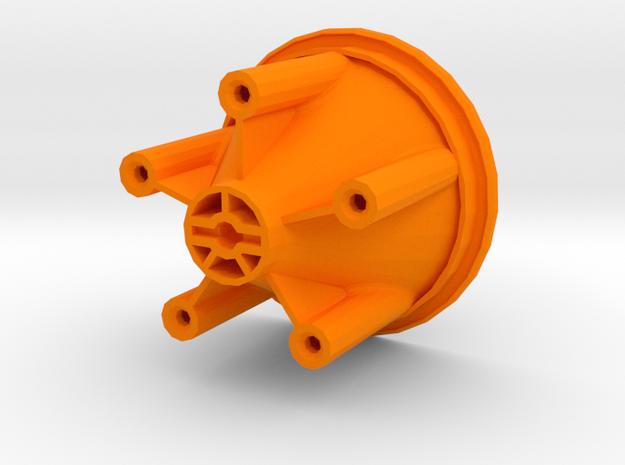 losi jrxt outside wheel half rear in Orange Processed Versatile Plastic