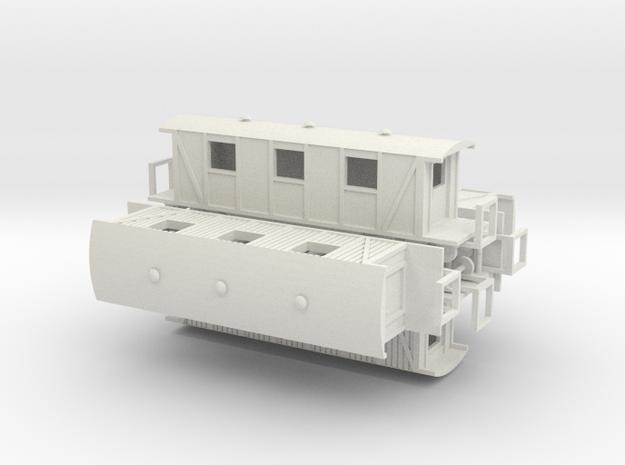 Sanitätswagen 144 005 (rep) in White Natural Versatile Plastic