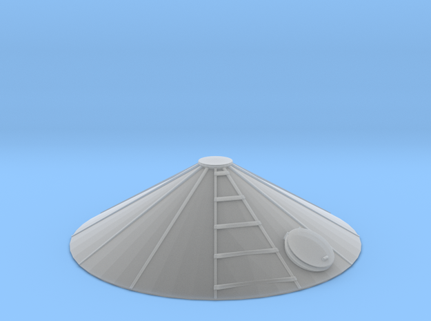 1/64 12' Tower Roof in Smooth Fine Detail Plastic