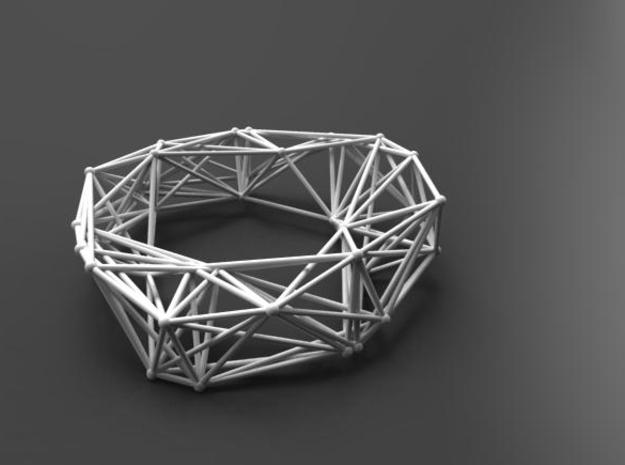 Structure Bangle 3d printed