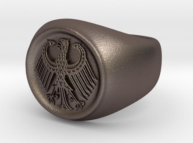 German Eagle Ring in Stainless Steel