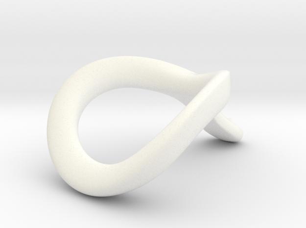 JNaja CRing 50mm - 1.97INCH in White Processed Versatile Plastic