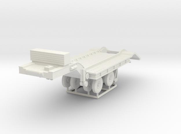 1/72 Federal 604 20-ton Semi-Trailer in White Strong & Flexible