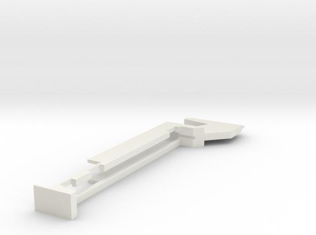 ZorroSafe in White Natural Versatile Plastic