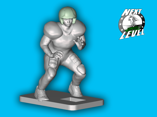 Right Offensive Guard (2.2g) in Smooth Fine Detail Plastic