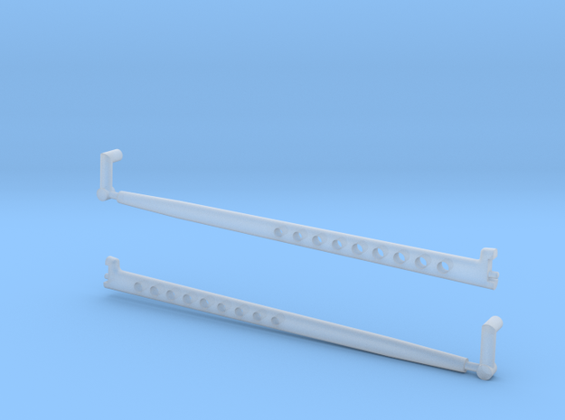 1/8 scale Radius Arm option 2 in Smooth Fine Detail Plastic