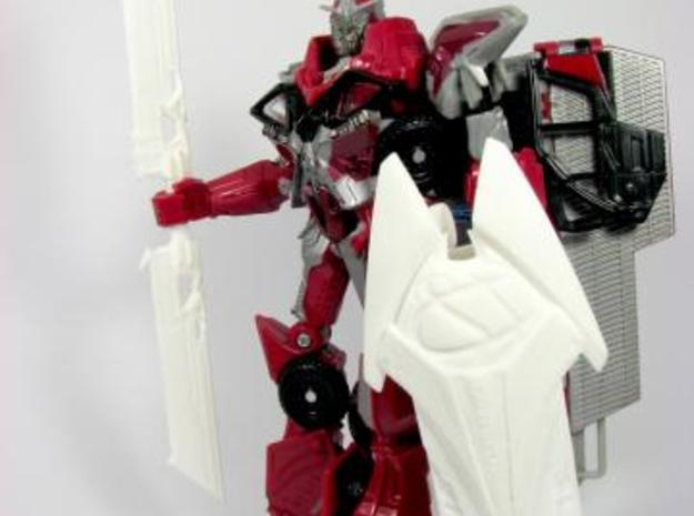 DOTM voyager Sentinel Prime weapon set 3d printed swords and shield