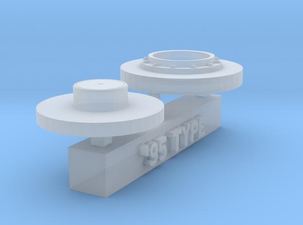 1/20 F1 fuel valve 1995 type in Smoothest Fine Detail Plastic