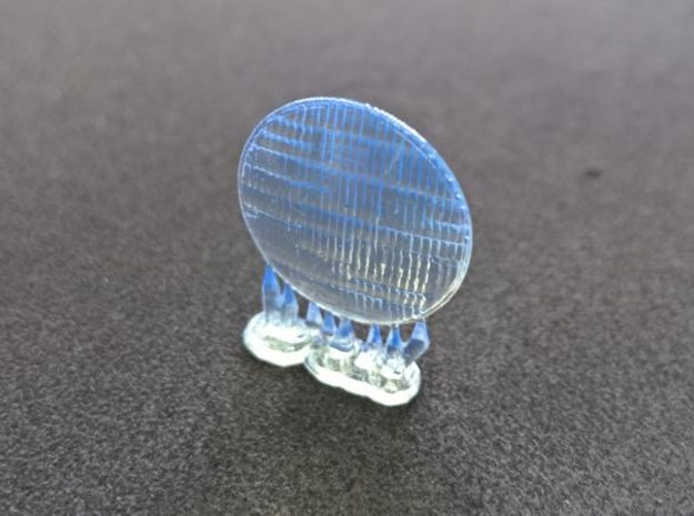 Tamiya 1/10 Volkswagen Beetle Lens for Rally Headl in Smooth Fine Detail Plastic