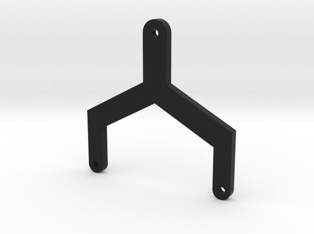 Battery Strap (For EXO 22 Laydown Conversion)  in Black Natural Versatile Plastic
