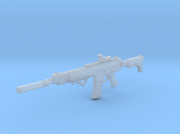 1/16th K5C with sight and suppressor in Smooth Fine Detail Plastic