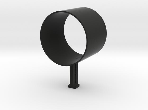 Camera Shoe Quick Aim Viewfinder in Black Natural Versatile Plastic