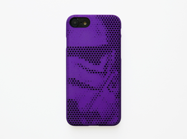 iPhone 7 Case_Stormtrooper in Purple Strong & Flexible Polished