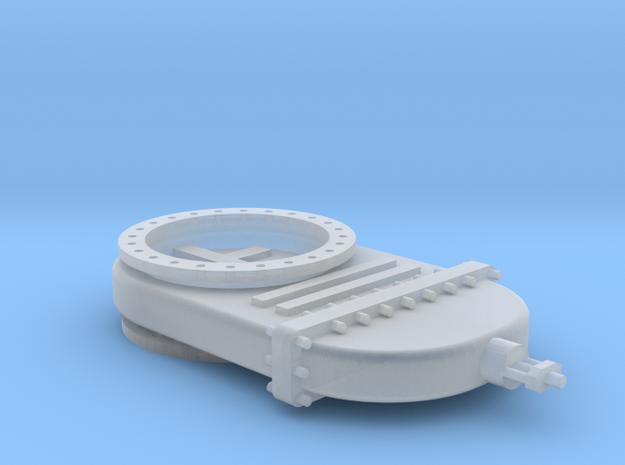 Absperrschieber 1000mm - TT 1:120 in Smooth Fine Detail Plastic