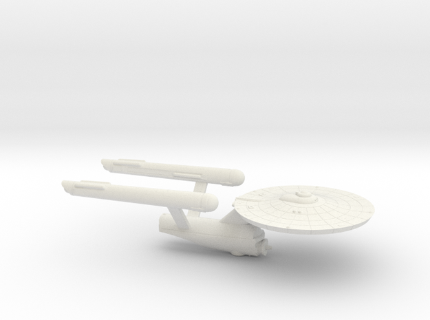 3125 Scale Federation Strike Carrier (CVS) WEM in White Strong & Flexible