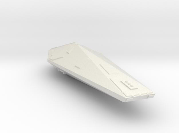3788 Scale Hydran Escort Lancer CVN in White Natural Versatile Plastic