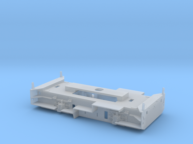 Y2400 Chassis in Smoothest Fine Detail Plastic