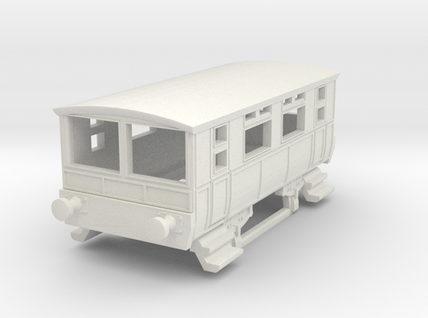 o-148-wcpr-drewry-sm-railcar-trailer-1 in White Natural Versatile Plastic