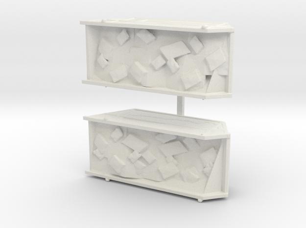Site Dumpsters  in White Natural Versatile Plastic