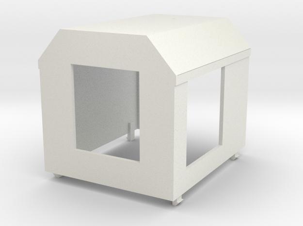 Diema_DL6_Motorhaube, 1:13,3 in White Natural Versatile Plastic