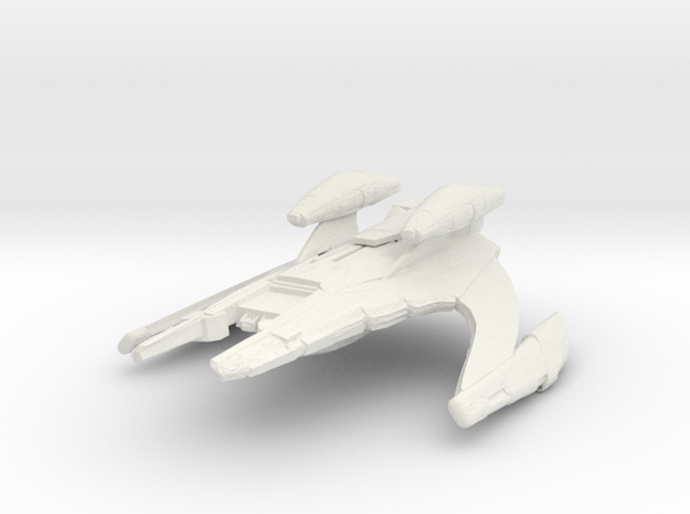 Jem'Hadar Battlecruiser 1:7000  in White Natural Versatile Plastic