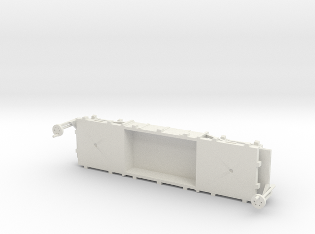 A-1-76-wdlr-f-wagon-body-plus in White Natural Versatile Plastic