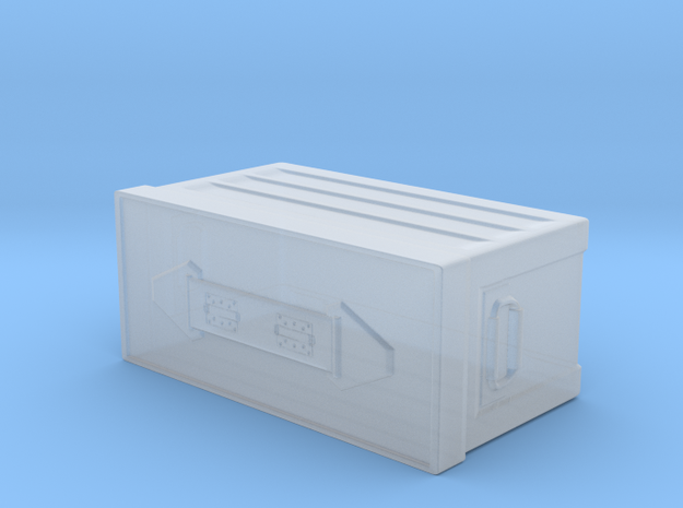Military Ammo Box in Smooth Fine Detail Plastic