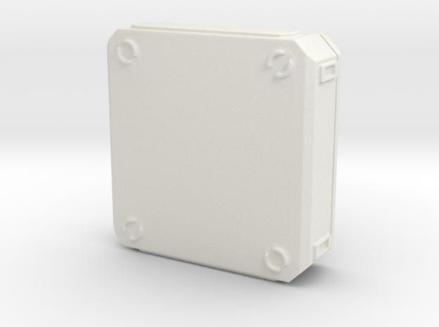 SciFi Medical Box in White Premium Versatile Plastic