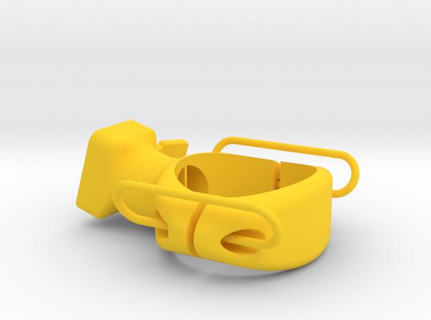 Moon Nebula 34 mm Seat Post Mount in Yellow Processed Versatile Plastic