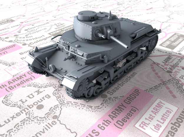 1/87 (HO) Scale Czech ST vz. 39 Medium Tank in Smooth Fine Detail Plastic