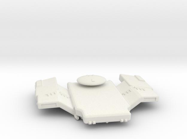 3125 Scale Bolosco Merchant Cruiser MGL in White Natural Versatile Plastic