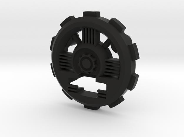 GRAFLEX1-89Sabers-P3 in Black Natural Versatile Plastic
