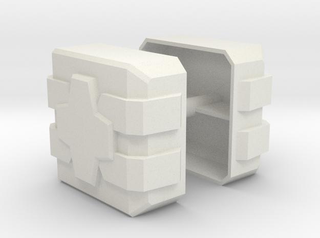 Magnus Hammer Faces in White Natural Versatile Plastic
