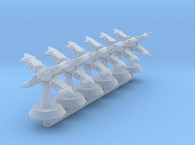 Reppu Gunship-Fleetscale in Smooth Fine Detail Plastic