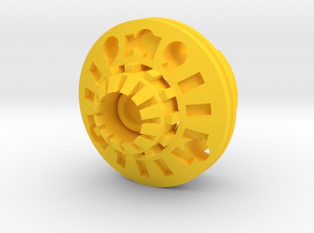 Destiny-P4 in Yellow Processed Versatile Plastic