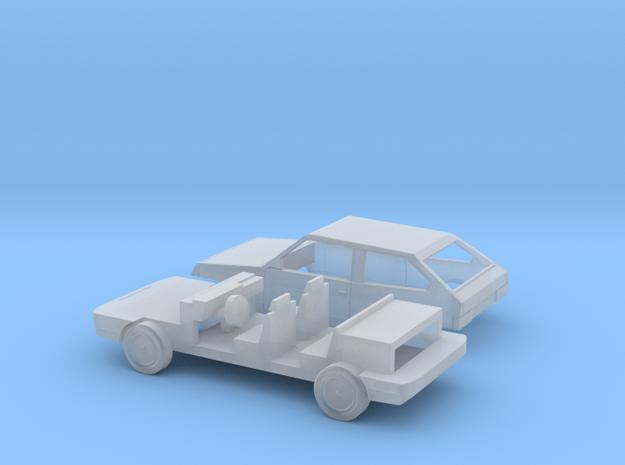 Lada Samara WAS 2108 N-Scale in Smooth Fine Detail Plastic